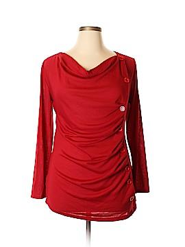 J Mode USA Long Sleeve Top Size 1X (Plus)