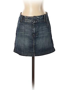 7 For All Mankind Denim Skirt 27 Waist