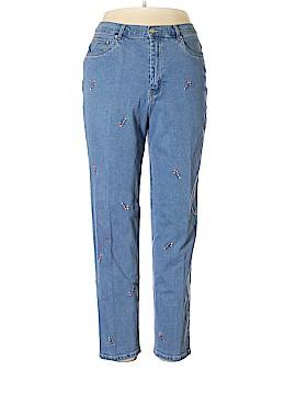 The Quacker Factory Jeans Size 14