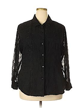 Fashion Bug Long Sleeve Blouse Size 18 - 20 (Plus)