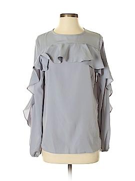 Harlowe & Graham Long Sleeve Blouse Size S