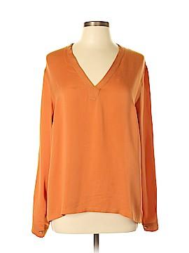 Max Mara Long Sleeve Silk Top Size 10