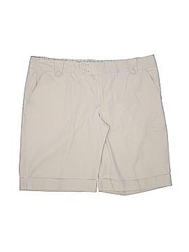 Old Navy Khaki Shorts Size 18 (Plus)