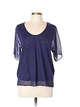 Armani Exchange 3/4 Sleeve Blouse Size L