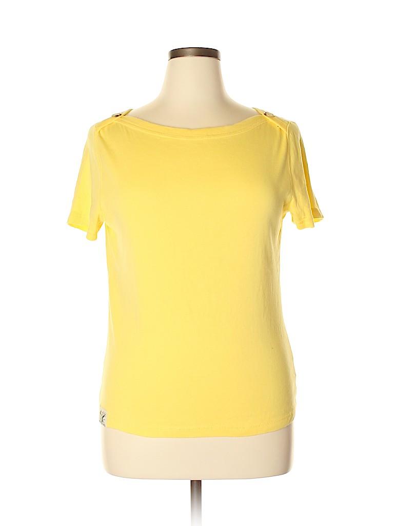 American Living Women Short Sleeve Top Size XL