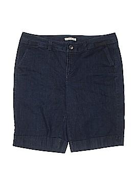 Sejour Denim Shorts Size 16W