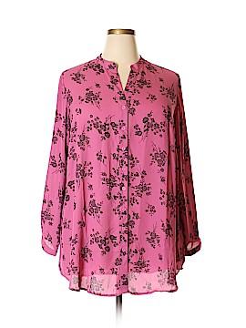 Joan Rivers Long Sleeve Blouse Size 22 (Plus)