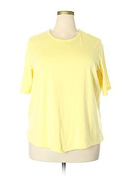 BEDFORD FAIR lifestyles 3/4 Sleeve T-Shirt Size 2X (Plus)