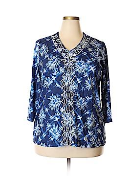 Cathy Daniels 3/4 Sleeve Top Size XL