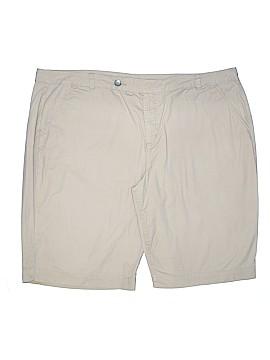 Bandolino Khaki Shorts Size 22 (Plus)