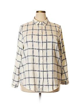 ASOS Long Sleeve Button-Down Shirt Size 14