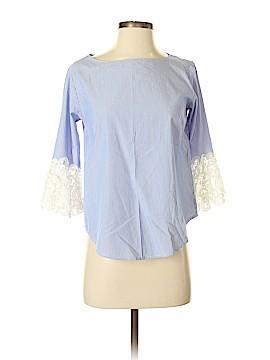 Saks Fifth Avenue 3/4 Sleeve Blouse Size XS