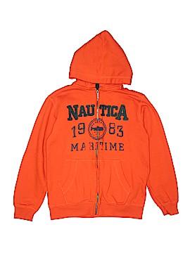 Nautica Zip Up Hoodie Size 14