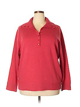 Jones New York Cashmere Pullover Sweater Size 3X (Plus)