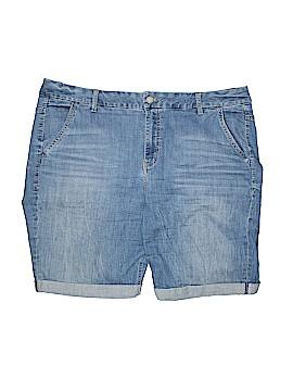 Lane Bryant Denim Shorts Size 22 (Plus)
