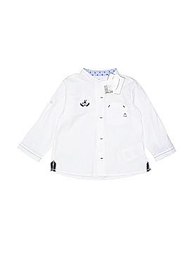 Mayoral Long Sleeve Button-Down Shirt Newborn