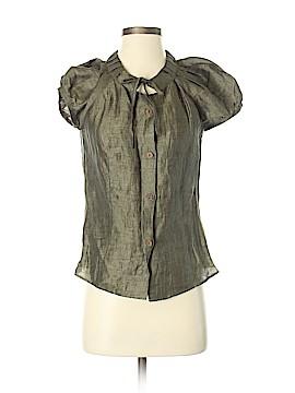 Luca Luca Short Sleeve Button-Down Shirt Size 40 (IT)