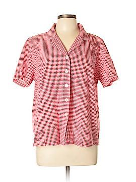 Kim Rogers Short Sleeve Button-Down Shirt Size XL