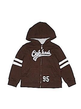 OshKosh B'gosh Zip Up Hoodie Size 4