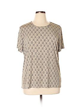 Jaclyn Smith Short Sleeve Blouse Size XXL