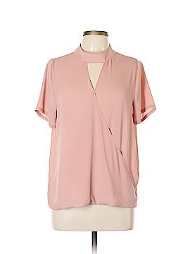 Sienna Sky Short Sleeve Blouse Size L