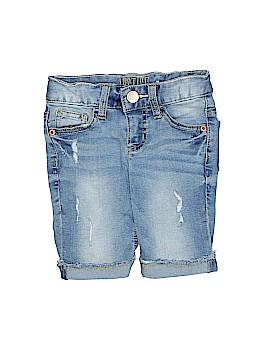 Justice Denim Shorts Size 6 (Slim)