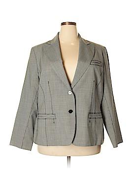 Anne Klein Wool Blazer Size 20W (Plus)
