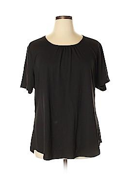 Hanes Short Sleeve Top Size 3X (Plus)