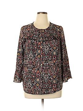 Lauren Conrad 3/4 Sleeve Blouse Size L