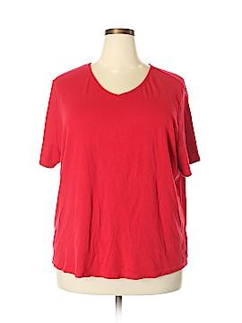 Basic Editions Short Sleeve T-Shirt Size 3X (Plus)