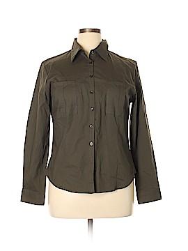 Gemilli Long Sleeve Button-Down Shirt Size XL