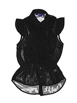 Miley Cyrus & Max Azria Short Sleeve Blouse Size XL