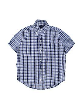 Ralph by Ralph Lauren Short Sleeve Button-Down Shirt Size 6