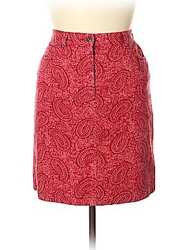 Jones Wear Denim Skirt Size 12