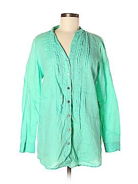 J.jill Long Sleeve Button-Down Shirt Size M