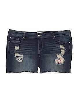 Torrid Denim Shorts Size 24 (Plus)