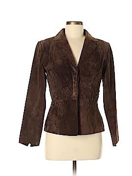 Margaret Godfrey Leather Jacket Size M (Petite)