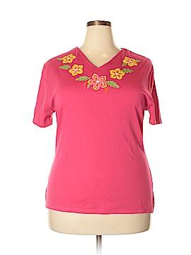 Fashion Classics Short Sleeve Top Size XXL