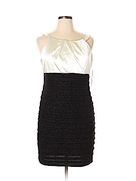 R&M Richards Cocktail Dress Size 16 (Petite)