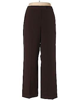 Signature by Larry Levine Dress Pants Size 18 (Plus)