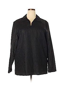 Claiborne Long Sleeve Blouse Size XL