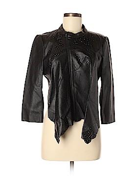 BCBGMAXAZRIA Faux Leather Jacket Size M