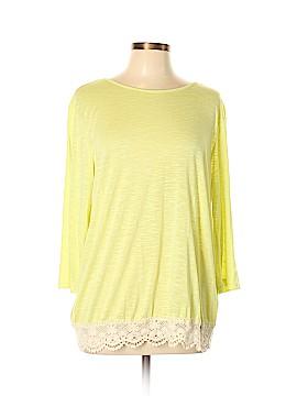 Kori America 3/4 Sleeve Top Size L