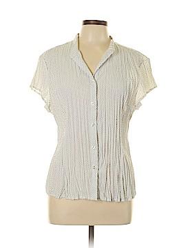 Scott Taylor Short Sleeve Blouse Size XL