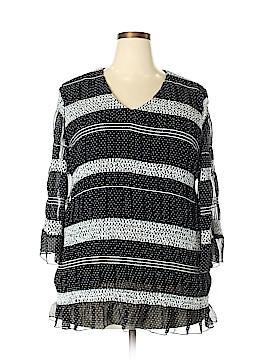 Russel Kemp New York 3/4 Sleeve Blouse Size 2X (Plus)