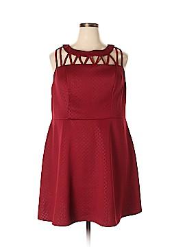 Heart Soul Cocktail Dress Size 3X (Plus)