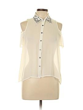 Bongo Short Sleeve Blouse Size L