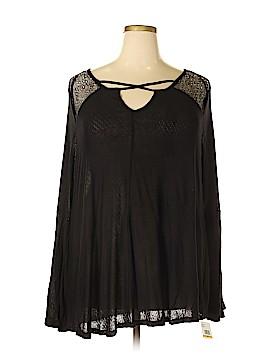 Jessica Simpson Long Sleeve Top Size 3X (Plus)