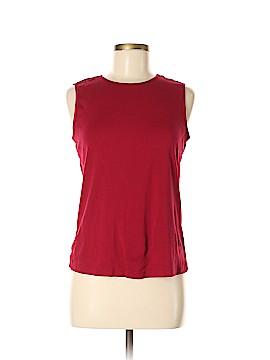 Christopher Blue Sleeveless T-Shirt Size M