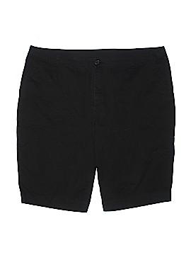 Avenue Khaki Shorts Size 22 (Plus)